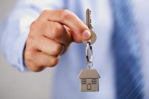 Can landlords use their own keys to gain access to rented property?