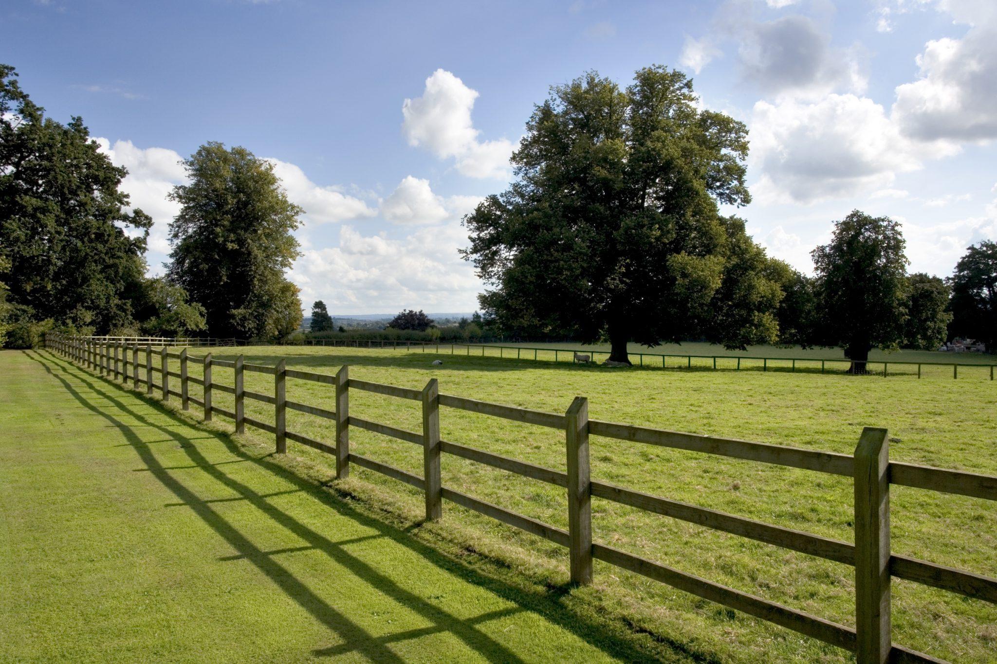 fence around field image