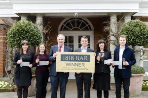 Paris Smith golden ticket winners celebrate at Chewton Glen