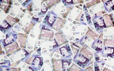 twenty pound notes picture