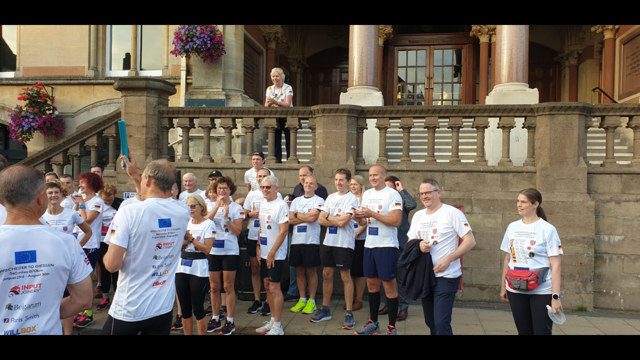 Paris Smith thrilled to support the Giessen run in aid of Winchester Hospice