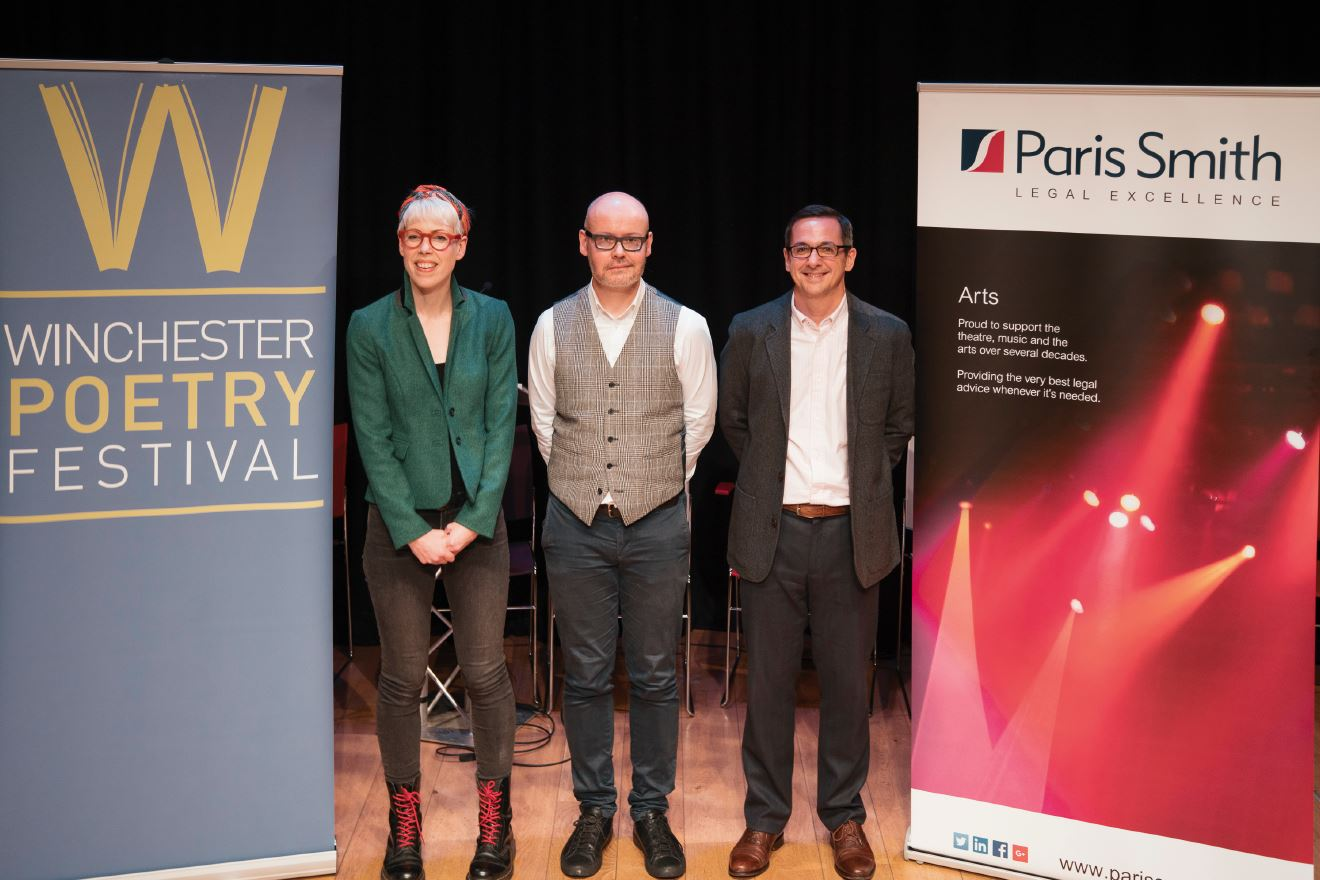 Winchester Poetry Prize | Paris Smith continues to support the arts in Winchester