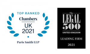Chambers Top Ranked Legal 500 Leading firm