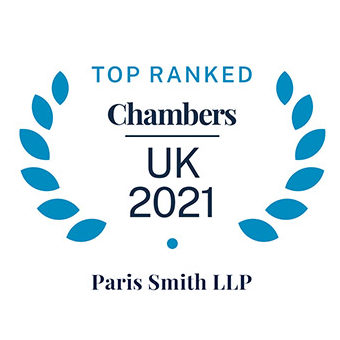 Chambers & Partners Top Ranked Firm 2021