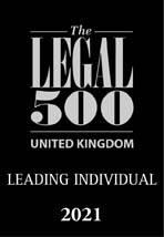 Legal 500 Leading Individual 2021
