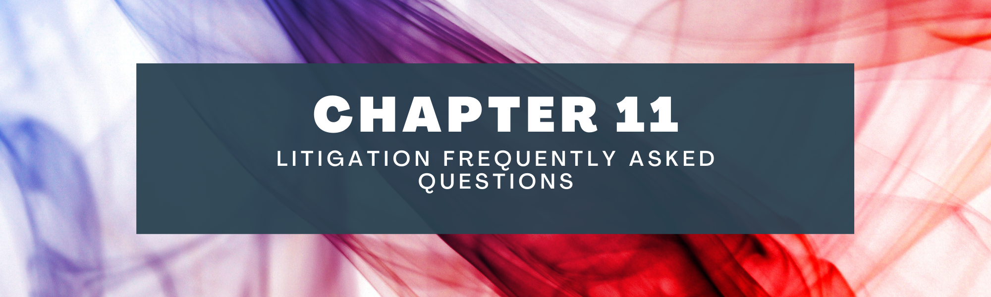 Litigation frequently asked questions