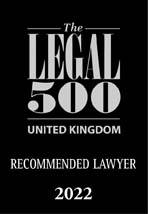 Legal 500 2022 Recommended Lawyer