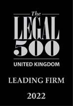 Legal 500 2022 Leading Firm logo